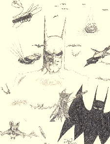 Bat Collage