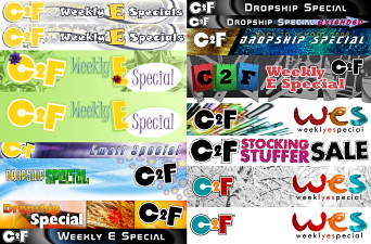 C2F Weekly E Special Headers 2005 to 2012