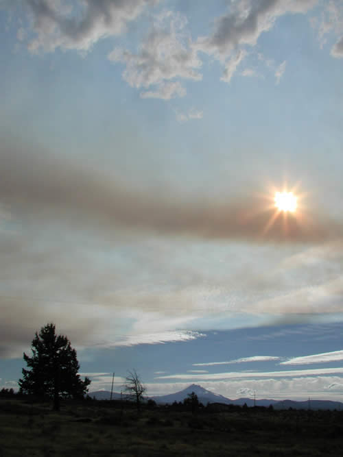 GW Fire near Black Butte
