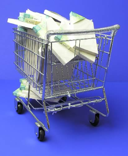 Bluescreen 2: Shopping Cart
